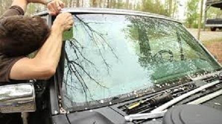 leaking windshield